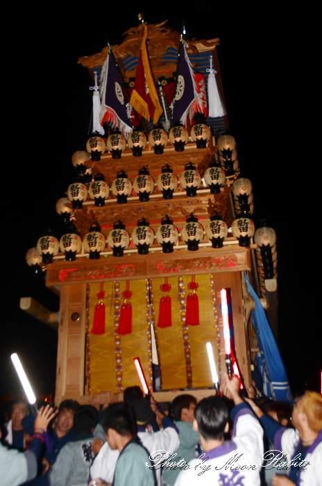 福武祭り(加茂神社例祭) 新田屋台(だんじり) 西条祭り2013