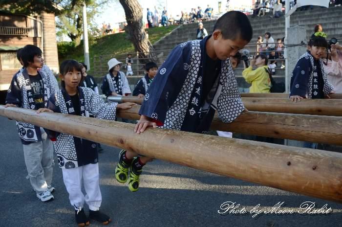 嘉母神社祭礼2013 下組太鼓台 宮出し 愛媛県西条市禎瑞