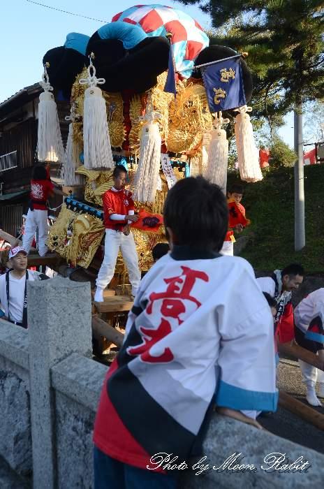 高丸太鼓台 祭り装束 嘉母神社祭礼 西条祭り2013 愛媛県西条市禎瑞