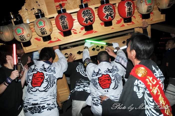 喜多町だんじり(屋台)  祭り装束 西条祭り2013 伊曽乃神社