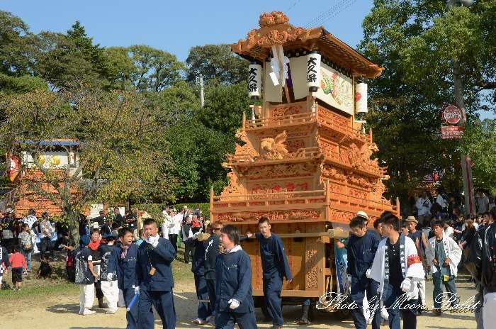 大久保屋台(だんじり) 石岡神社祭礼2013 本殿祭 西条祭り