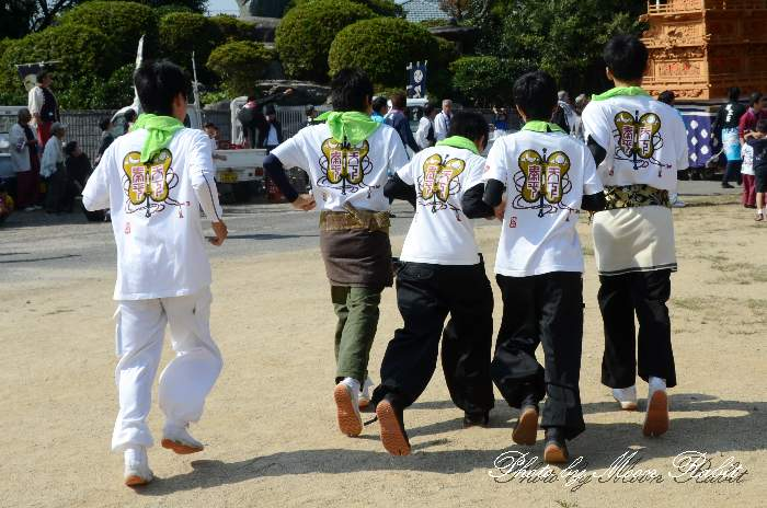 朝日町屋台(朝日町だんじり) 祭り装束 石岡神社祭礼