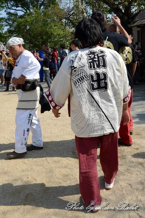 新出屋台(新出だんじり) 祭り装束 石岡神社祭礼