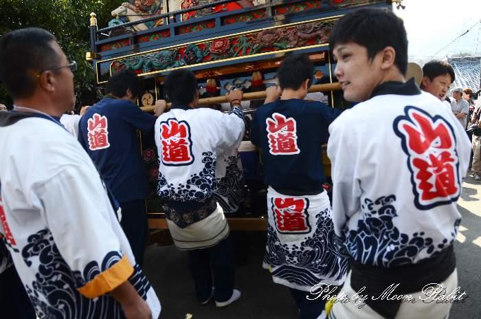 山道屋台(だんじり) 石岡神社祭礼2013 本殿祭 西条祭り
