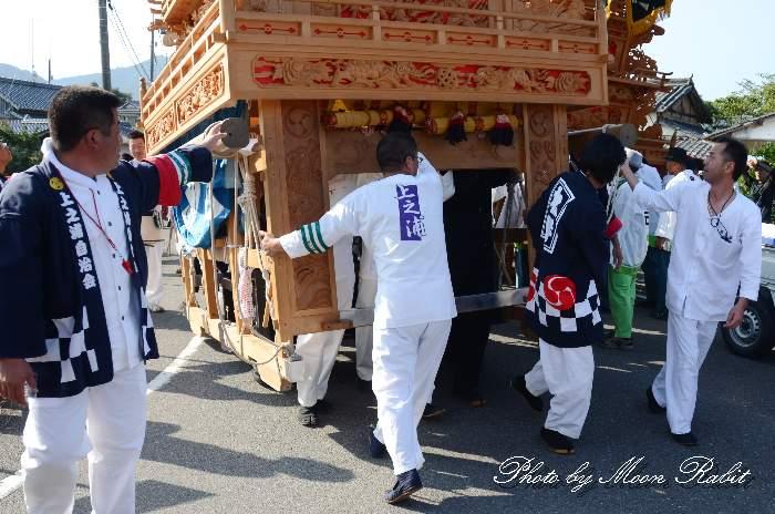 上之浦屋台(上の浦だんじり) 法被 祭り装束 石岡神社祭礼