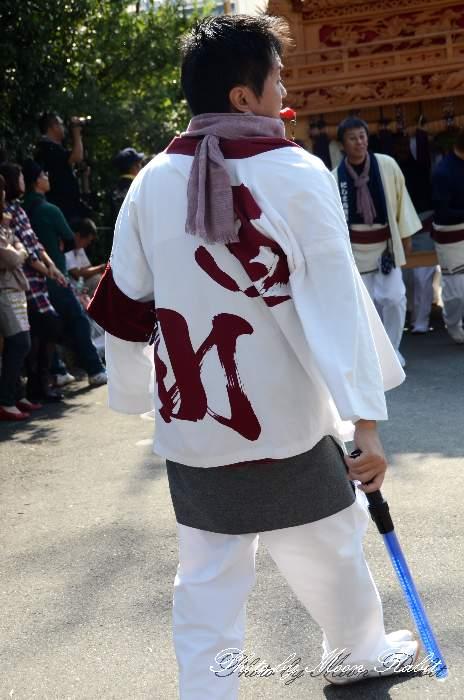 西町だんじり(屋台) 法被 祭り装束 石岡神社祭礼