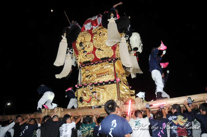 野口太鼓台 マルナカ西条店 飯積神社祭礼2013