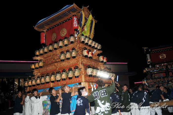 マルナカ西条店 若葉町だんじり(屋台) 前夜祭 西条祭り2013