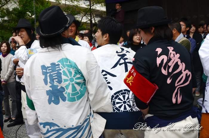 清水町だんじり(屋台) 祭り装束 西条祭り2013 伊曽乃神社