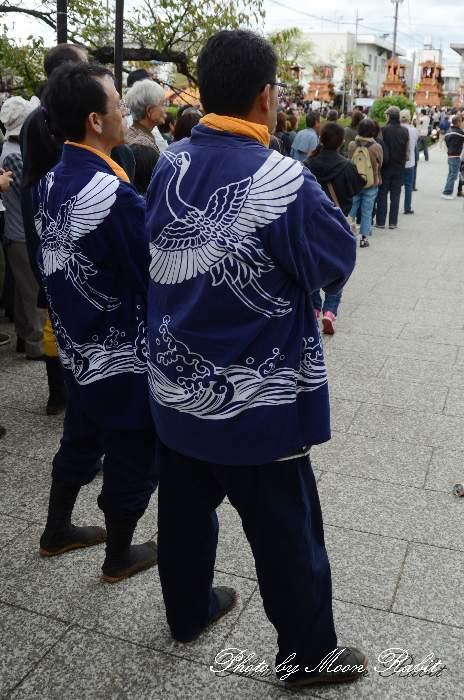 北之町中組だんじり(北の町中組屋台) 祭り装束 西条祭り2013 伊曽乃神社
