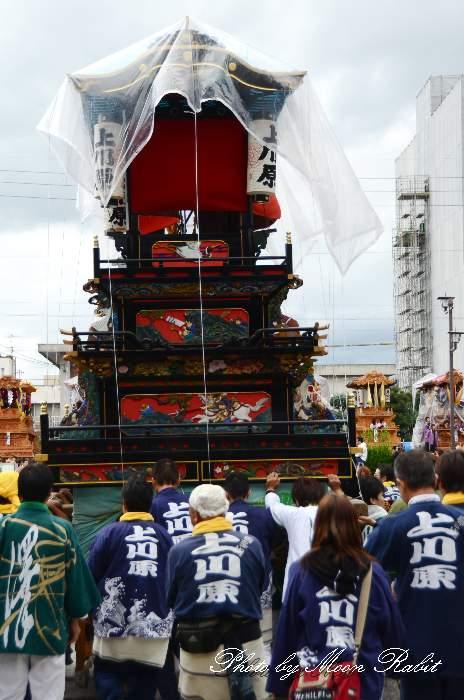 上川原だんじり(屋台) 祭り装束 西条祭り2013 伊曽乃神社