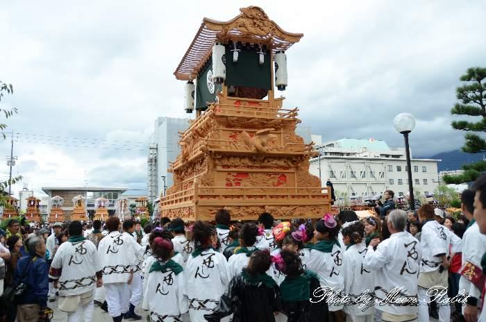 西新町だんじり(屋台) 祭り装束 西条祭り2013 伊曽乃神社
