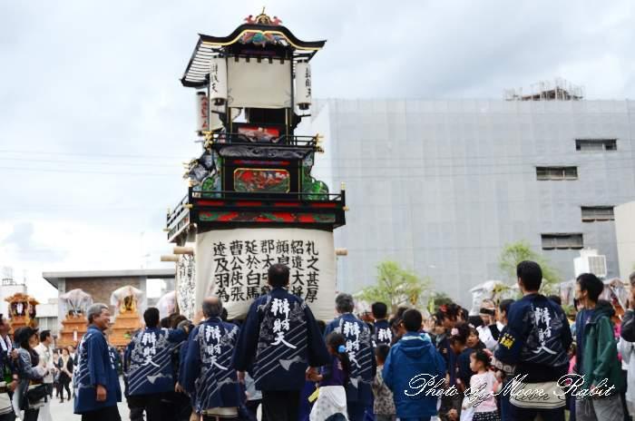 辯財天だんじり(弁財天屋台) 祭り装束 西条祭り2013 伊曽乃神社祭礼