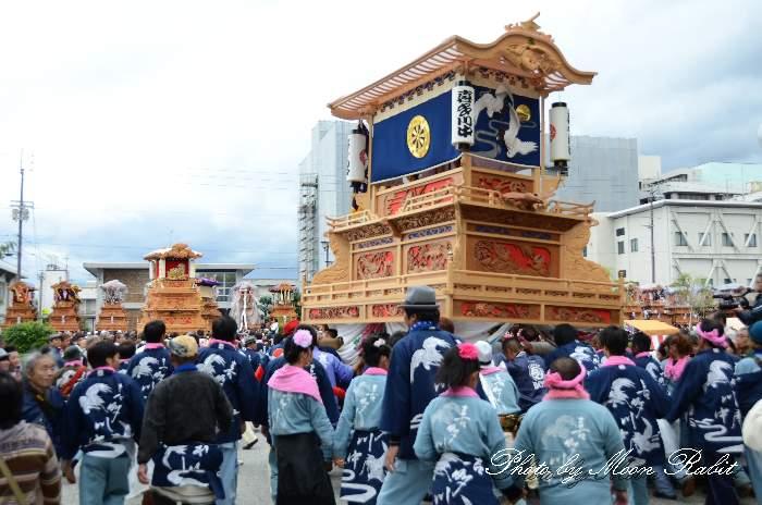 喜多川中屋台(だんじり) 法被 祭り装束 西条祭り2013 伊曽乃神社