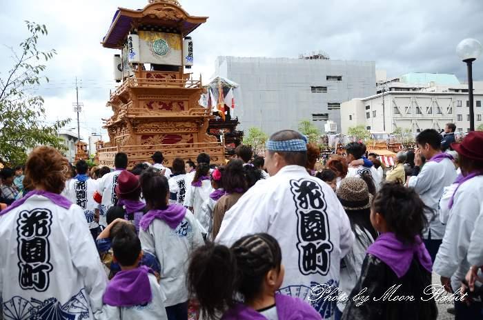 花園町だんじり(花園町屋台) 祭り装束 西条祭り2013 伊曽乃神社祭礼