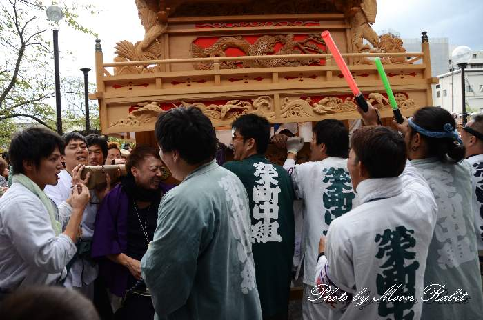 栄町中組屋台(榮町中組だんじり) 法被 祭り装束 西条祭り2013 伊曽乃神社