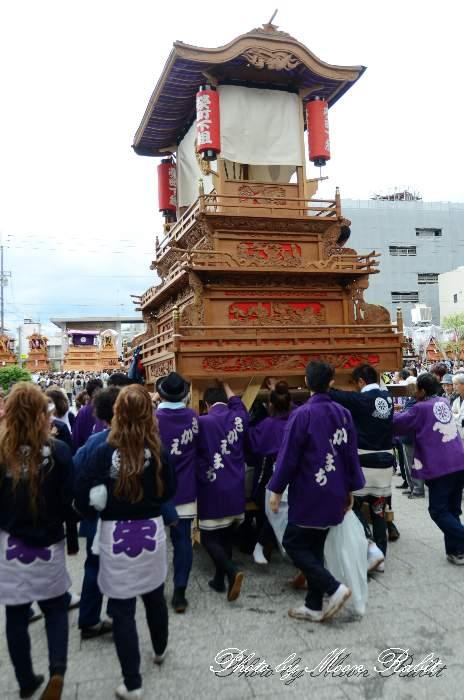 栄町下組屋台(榮町下組だんじり) 法被 祭り装束 西条祭り2013 伊曽乃神社