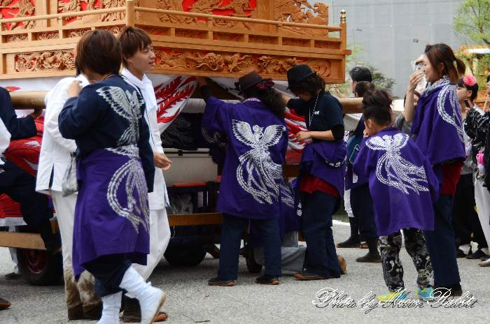 下町南屋台(だんじり) 法被 祭り装束 西条祭り2013 伊曽乃神社