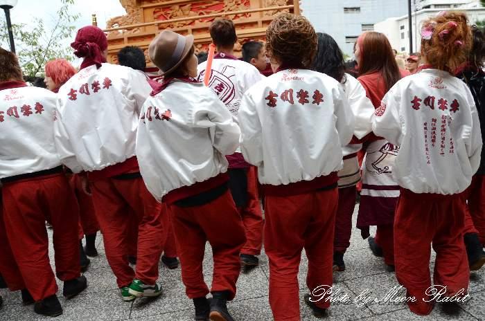古川だんじり(屋台) 法被 祭り装束 西条祭り2013 伊曽乃神社