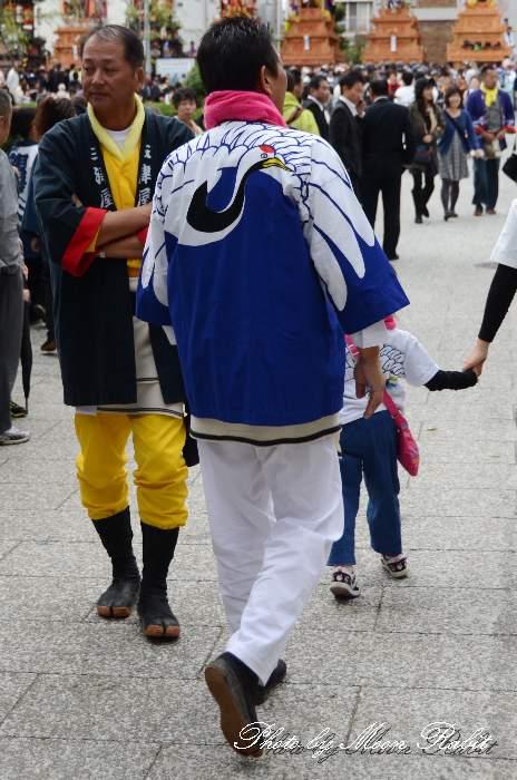 原の前だんじり(原之前屋台) 法被 祭り装束 西条祭り2013 伊曽乃神社