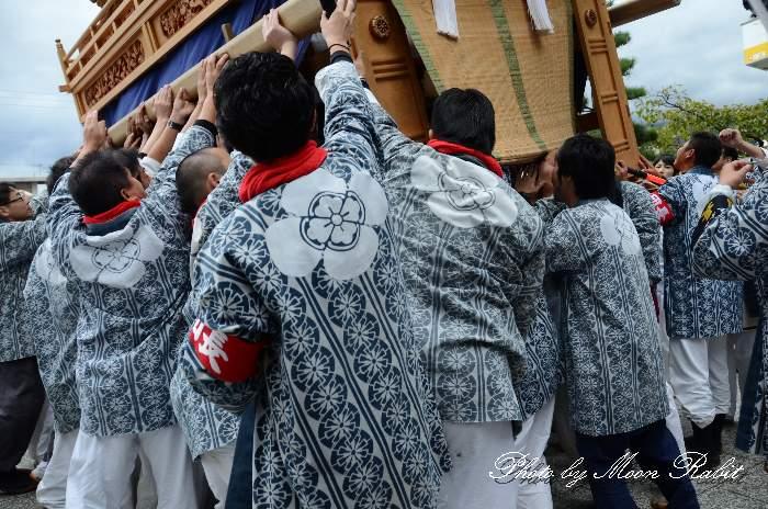 吉原三本松だんじり(屋台) 法被 祭り装束 西条祭り2013 伊曽乃神社