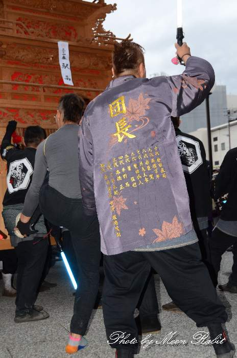 駅西屋台(駅西大通りだんじり) 法被 祭り装束 西条祭り2013 伊曽乃神社