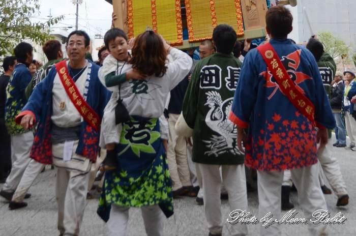 若葉町だんじり(屋台) 法被 祭り装束 西条祭り2013 伊曽乃神社