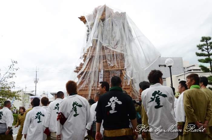 登道だんじり(屋台) 法被 祭り装束 西条祭り2013 伊曽乃神社