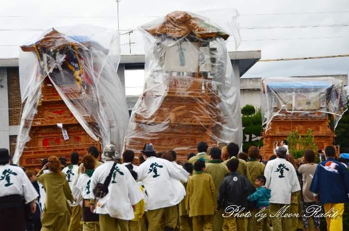 登道屋台(だんじり) 御殿前 西条祭り2013