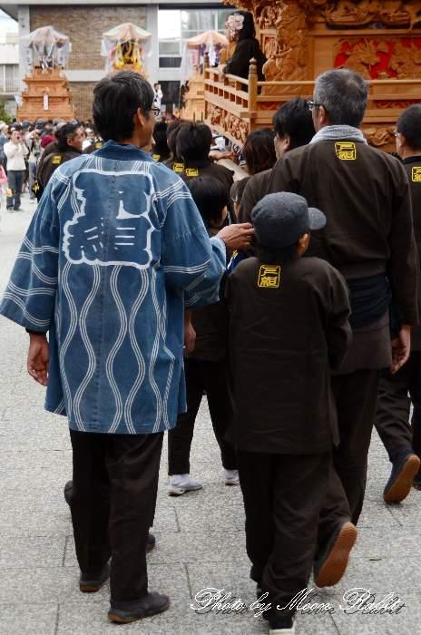北ノ町下組だんじり(屋台) 法被 祭り装束 西条祭り2013 伊曽乃神社