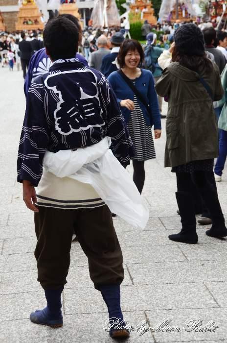 北ノ町だんじり(北之町下組屋台) 法被 祭り装束 西条祭り2013 伊曽乃神社