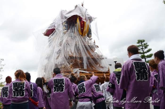 駅本だんじり(駅前本通屋台) 法被 祭り装束 西条祭り2013 伊曽乃神社