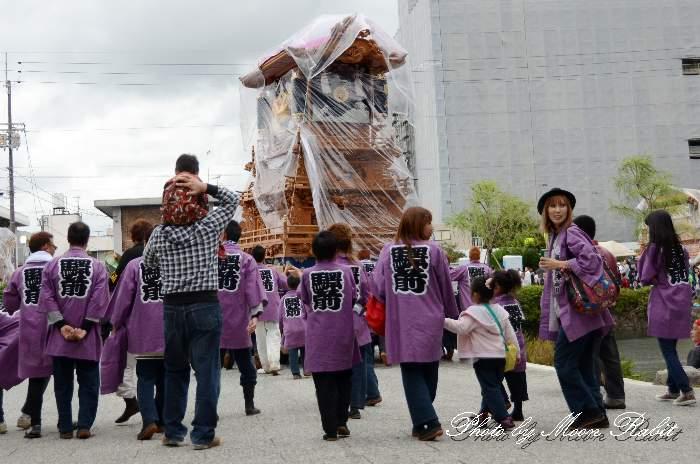 駅前本通屋台(駅本だんじり) 法被 祭り装束 西条祭り2013 伊曽乃神社