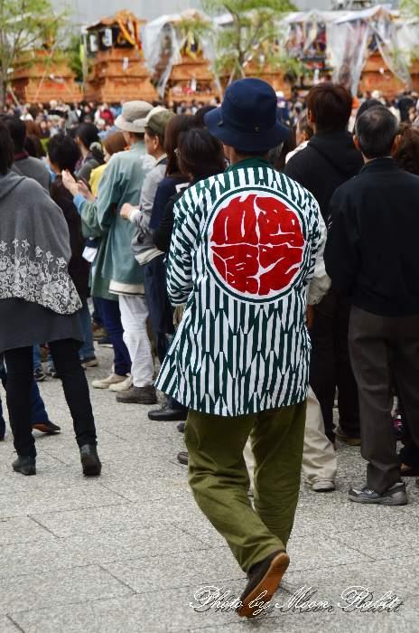 西之川原屋台(西の川原だんじり) 法被 祭り装束 西条祭り2013 伊曽乃神社