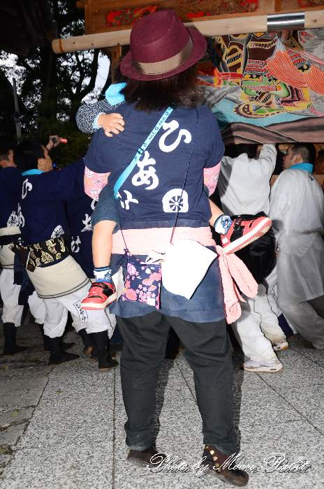 日明屋台(だんじり) 祭り装束 西条祭り2013 伊曽乃神社祭礼