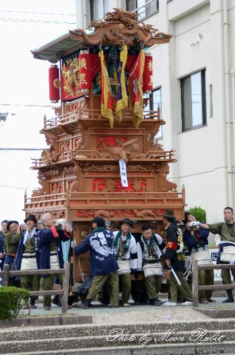 横黒屋台(だんじり) 新町泉 西条祭り2013