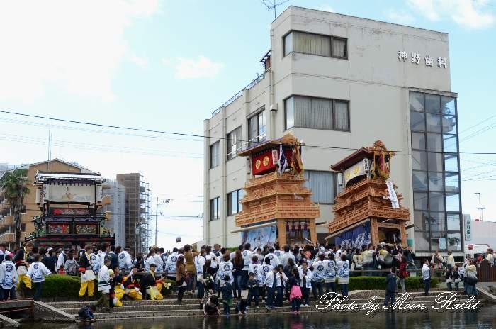 八丁屋台(だんじり) 新町泉 西条祭り2013