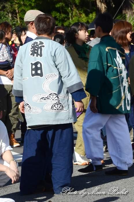 新田屋台(福武新田だんじり) 祭り装束 西条祭り2013 伊曽乃神社祭礼