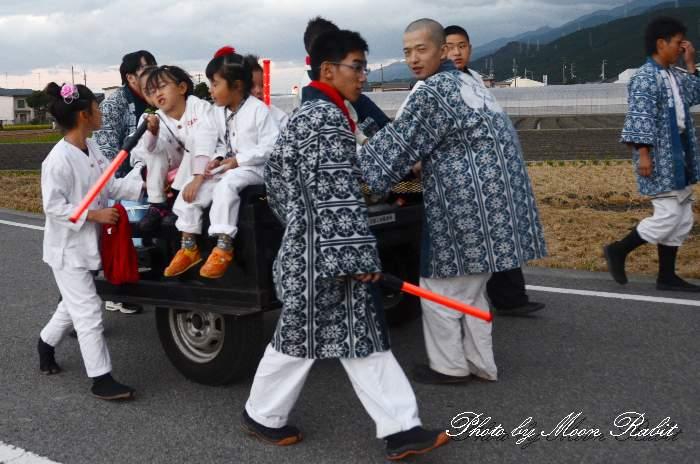 吉原三本松屋台(だんじり) 統一運行 西条祭り2013 伊曽乃神社祭礼
