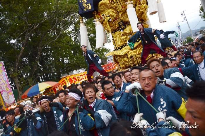 宇高太鼓台 新居浜太鼓祭り2013 八幡神社 愛媛県新居浜市八幡2-4-69