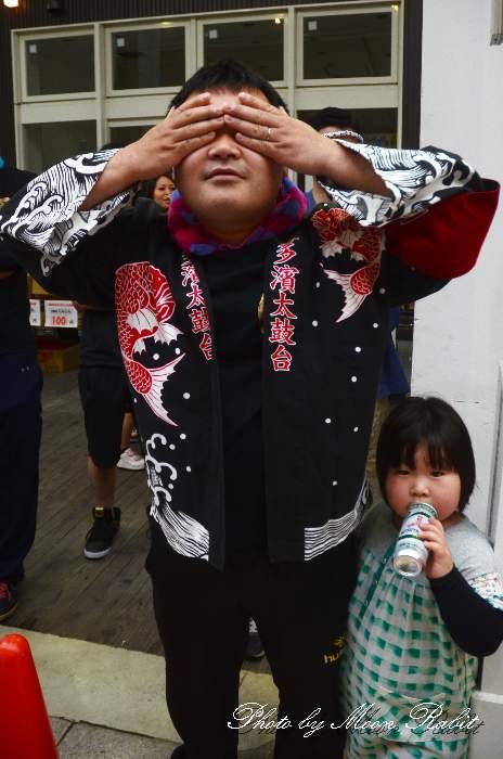 喜多濱太鼓台(北浜みこし) 半被・Tシャツ 祭り装束 西条市産業文化フェスティバル2014