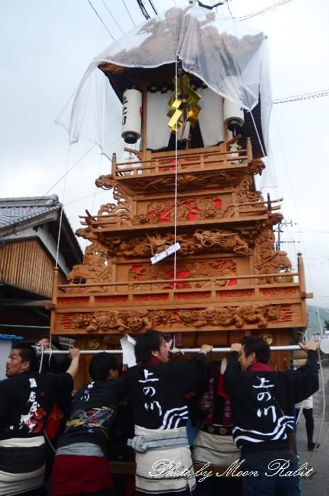 高尾神社春祭り 御神幸祭 上の川だんじり(上之川屋台)