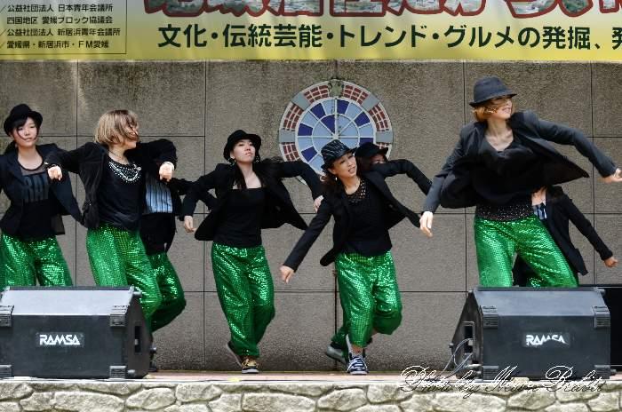 ダンス 愛媛県新居浜市 Danza*rosa 地域活性たからいち マイントピア別子