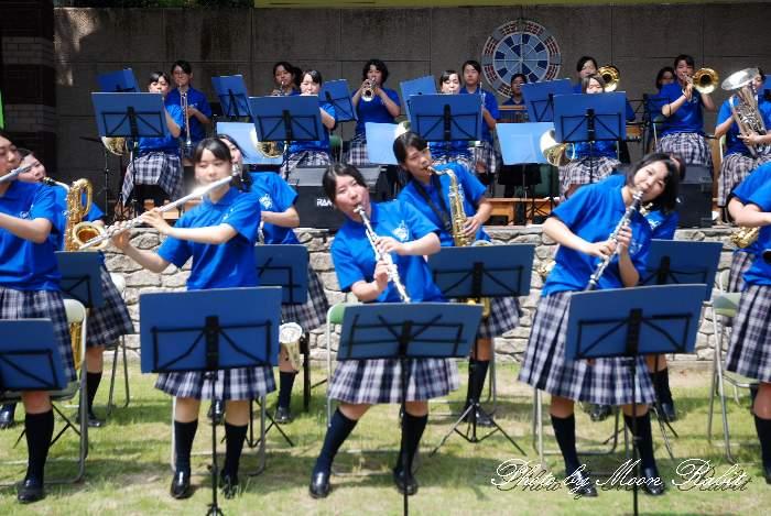 吹奏楽演奏 愛媛県新居浜市 新居浜東高等学校吹奏楽部 地域活性たからいち マイントピア別子