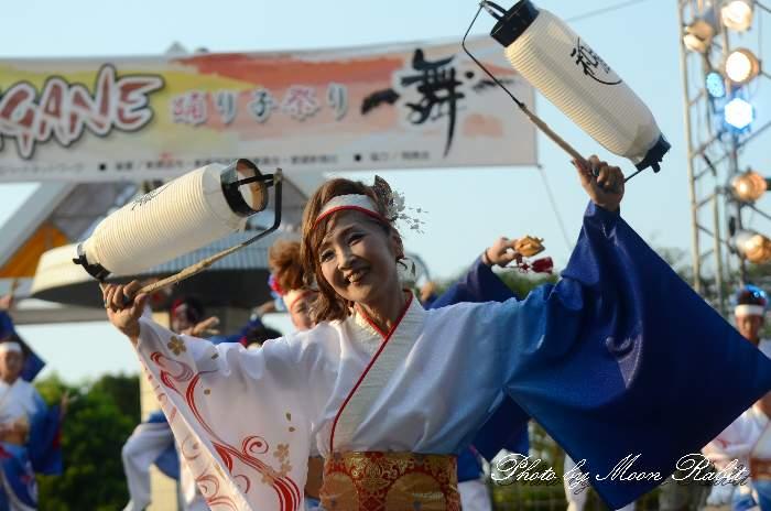 AKAGANE踊り子祭り 浜舞風 和蔵樂 愛媛県新居浜市