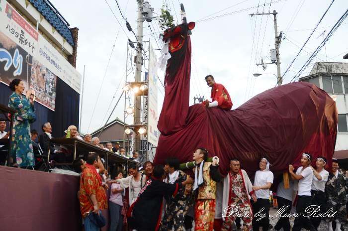丸穂牛鬼 愛媛県宇和島市 新居浜夏祭り2014