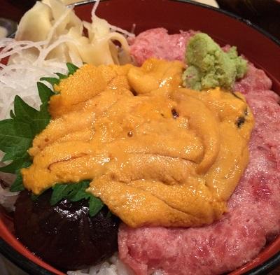 ウニトロ丼20140315