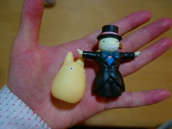 指人形 ジブリ
