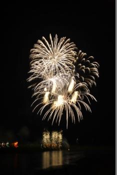 吉野川祭り 花火 写真