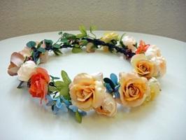 花かんむり例